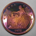 "2014 Commemorative Proof of the 1872 Amazonian Dollar ""Harvest Moon"""