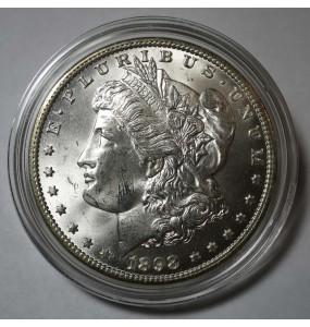 1898-O Morgan Silver Dollar - Choice BU - Clashed Die VAM