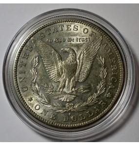 1884-S Morgan Silver Dollar - Keydate coin - Slider
