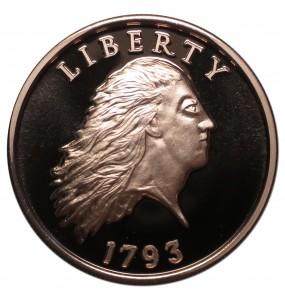 2018 Commemorative Proof of the 1793 Chain Cent