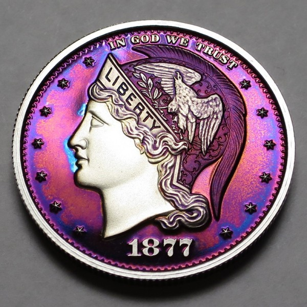 "2013 Helmeted Liberty Half Dollar ""Twilight 1"""