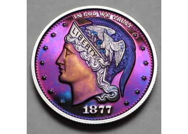 "2013 Helmeted Liberty Half Dollar ""Deep Twilight 2"""