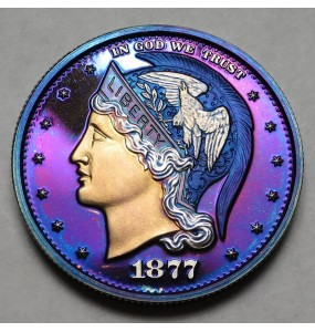 "2013 Helmeted Liberty Half Dollar ""Deep Twilight"""