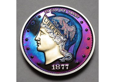 "2013 Helmeted Liberty Half Dollar ""Deep Twilight 3"""
