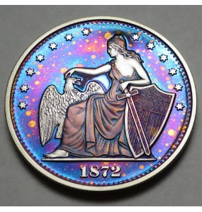 "2014 Commemorative Proof of the 1872 Amazonian Dollar ""Starry Night"""