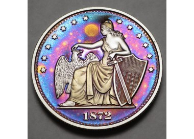 "2014 Commemorative Proof of the 1872 Amazonian Dollar ""Full Moon"""