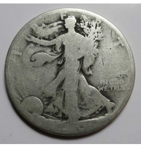 Walking Liberty Half Dollar - No Dates