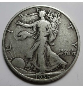 Walking Liberty Half Dollar - Full Dates - Avg Circulation