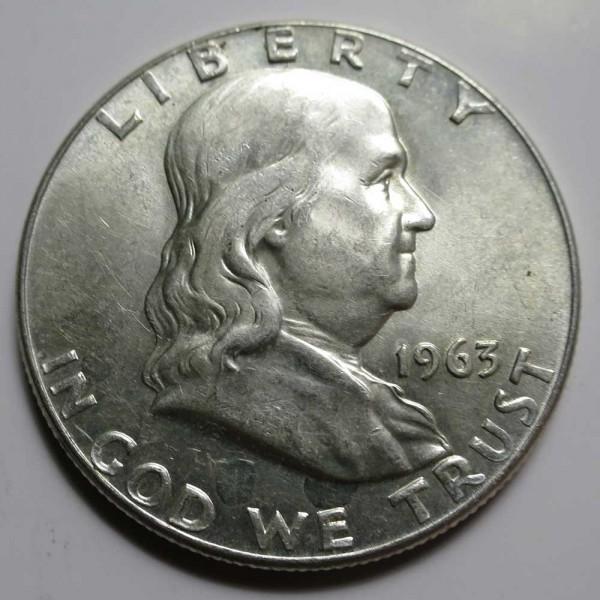 Franklin Half Dollar - AU/BU