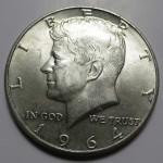 90% Kennedy Half Dollar - AU/BU