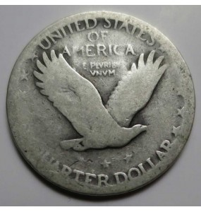 Standing Liberty Quarter - No Date