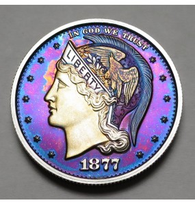 "2013 Helmeted Liberty Half Dollar ""Deep Twilight 4"""
