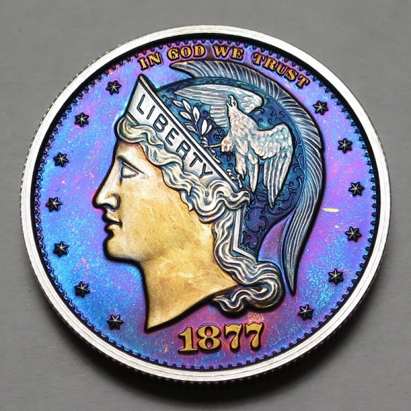 "2013 Helmeted Liberty Half Dollar ""Deep Twilight 5"""