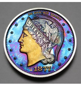 "2013 Helmeted Liberty Half Dollar ""Deep Twilight 6"""