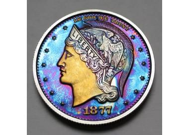 "2013 Helmeted Liberty Half Dollar ""Deep Twilight 6"""