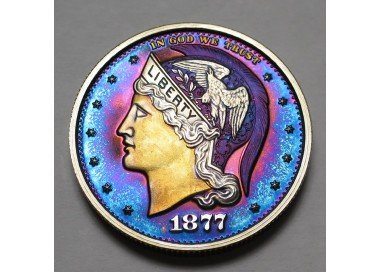 "2013 Helmeted Liberty Half Dollar ""Deep Twilight 7"""
