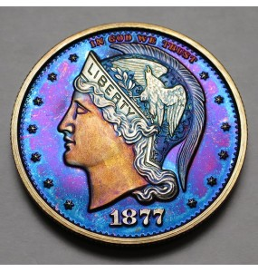 "2013 Helmeted Liberty Half Dollar ""Deep Twilight 8"""