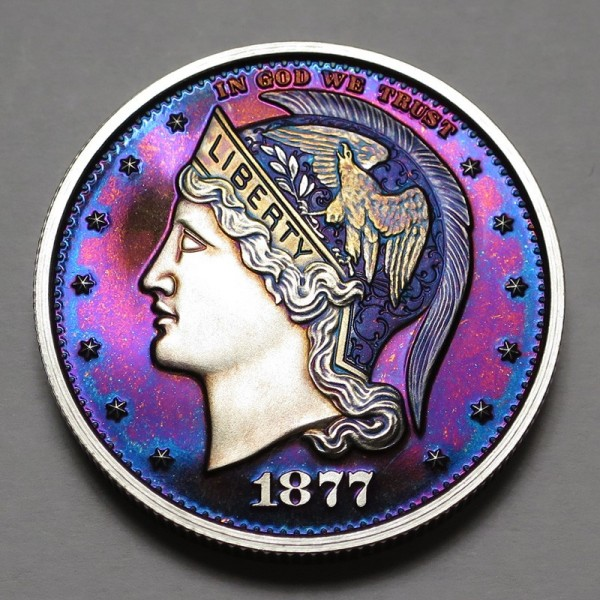 "2013 Helmeted Liberty Half Dollar ""Deep Twilight 9"""