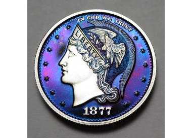 "2013 Helmeted Liberty Half Dollar ""Deep Twilight 10"""