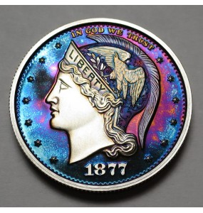 "2013 Helmeted Liberty Half Dollar ""Deep Twilight 11"""