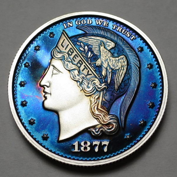 "2013 Helmeted Liberty Half Dollar ""Deep Twilight 12"""