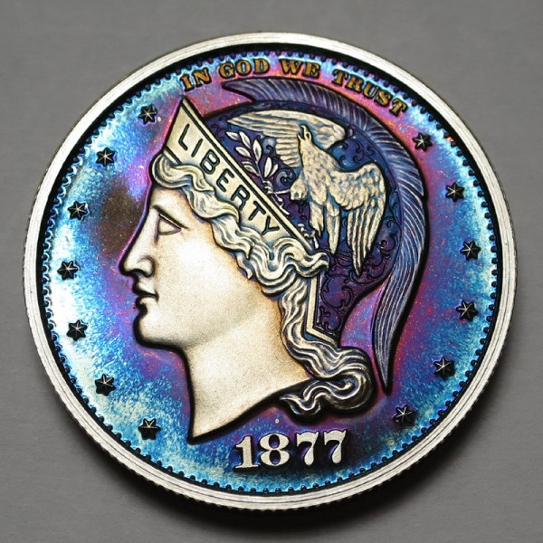 "2013 Helmeted Liberty Half Dollar ""Deep Twilight 13"""