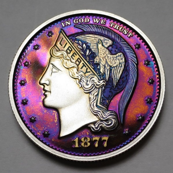 "2013 Helmeted Liberty Half Dollar ""Deep Twilight 14"""