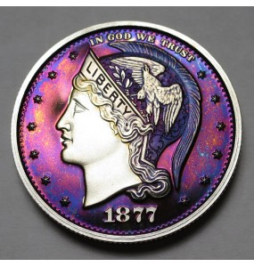 "2013 Helmeted Liberty Half Dollar ""Deep Twilight 15"""
