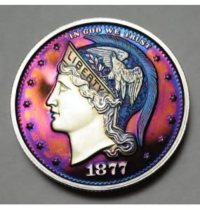 "2013 Helmeted Liberty Half Dollar ""Deep Twilight 16"""
