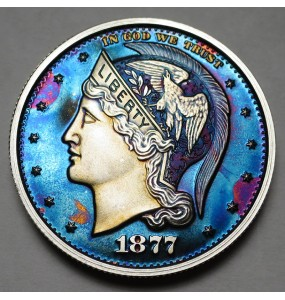 "2013 Helmeted Liberty Half Dollar ""Deep Twilight 17"""