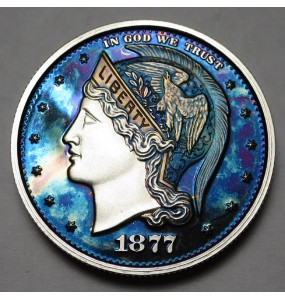 "2013 Helmeted Liberty Half Dollar ""Deep Twilight 18"""
