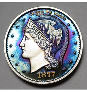 "2013 Helmeted Liberty Half Dollar ""Deep Twilight 19"""