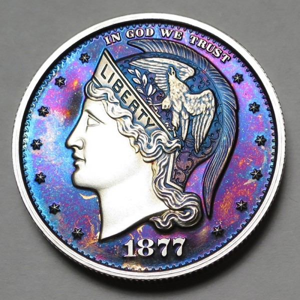 "2013 Helmeted Liberty Half Dollar ""Deep Twilight 20"""