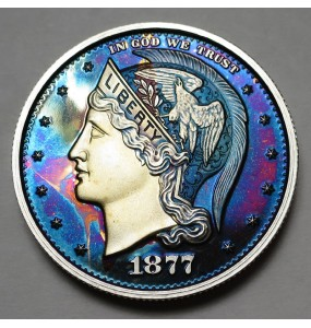 "2013 Helmeted Liberty Half Dollar ""Deep Twilight 21"""