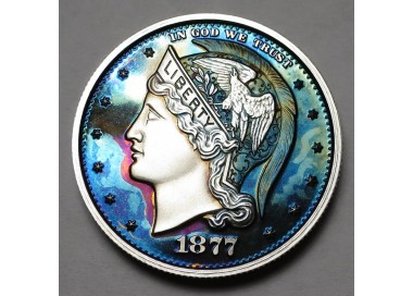 "2013 Helmeted Liberty Half Dollar ""Deep Twilight 22"""