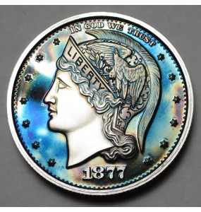 "2013 Helmeted Liberty Half Dollar ""Deep Twilight 23"""