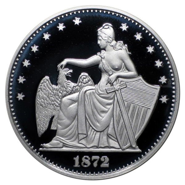 2014 Commemorative Proof of the 1872 Amazonian Dollar
