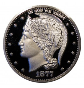 1877 Helmeted Liberty Half Dollar Commemorative