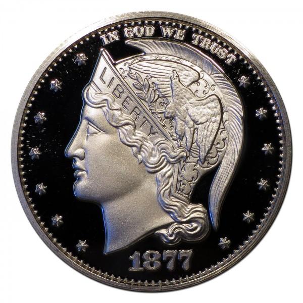 1877 Helmeted Liberty Half Dollar Commemorative