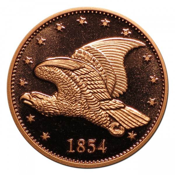 1854 Flying Eagle Cent Pattern Commemorative