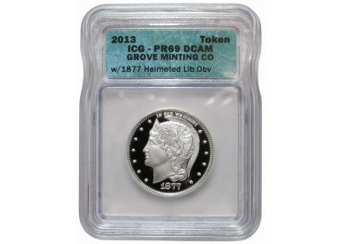 Certified Helmeted Liberty Half Dollar