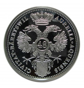 2015 Grove Minting Silver Thaler 48 Schilling