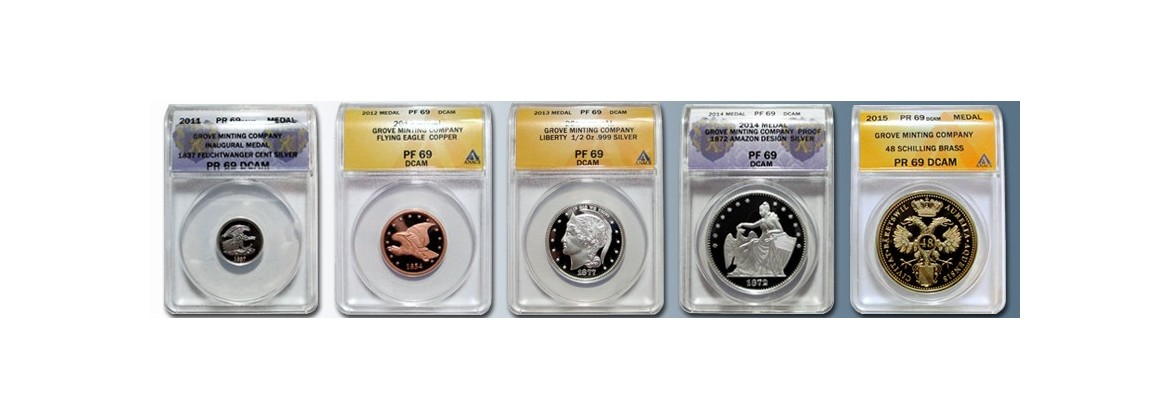 Certified Commemorative Tokens